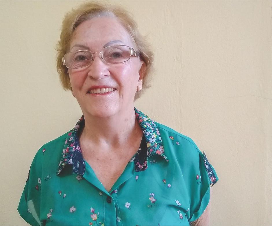 Diva Straub Leite, Colunista na Revista Top da Cidade, de Itapetininga