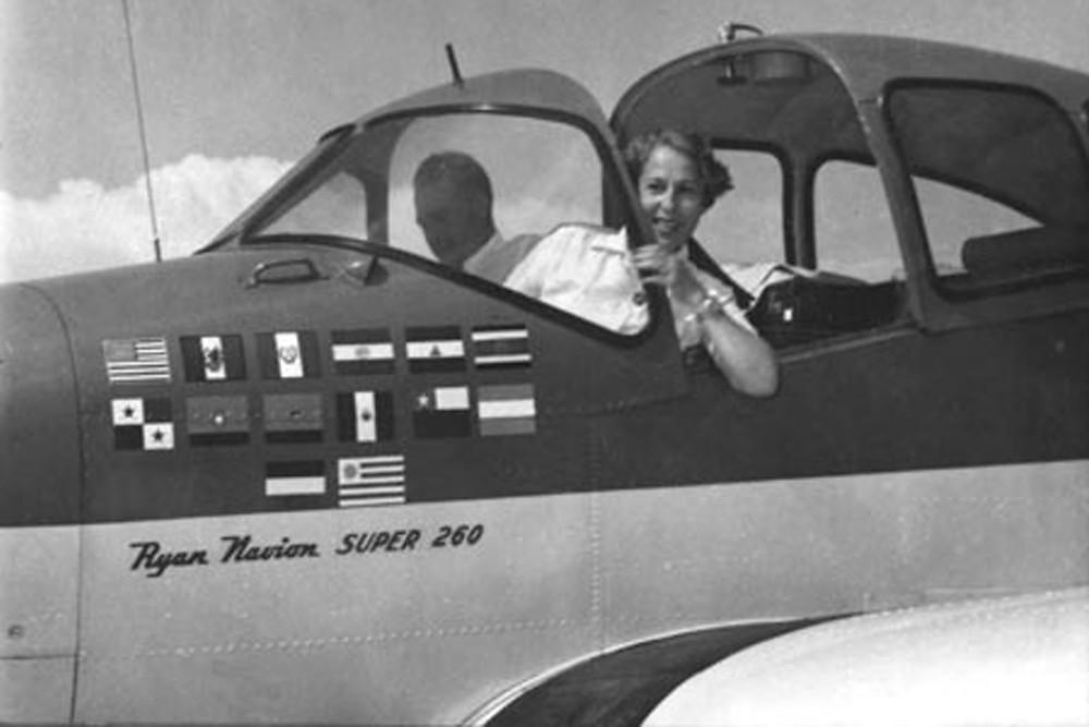 Anésia Pinheiro Machado, jovem aviadora que recusou-se a aderir ao movimento