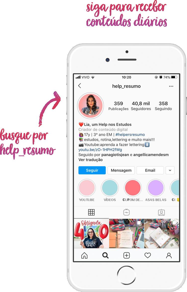 Lia Vitória Válio Meira do Instagram help_resumo em Revista Top da Cidade Edição 54