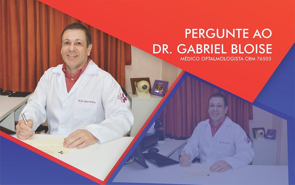 Banner Pergunte ao Dr. Gabriel Bloise, de matéria para a Revista Top da Cidade, edição 54, em Itapetininga