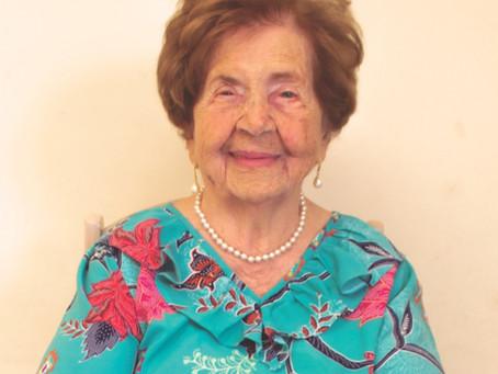 100 anos de Henriqueta Fiori Tamura
