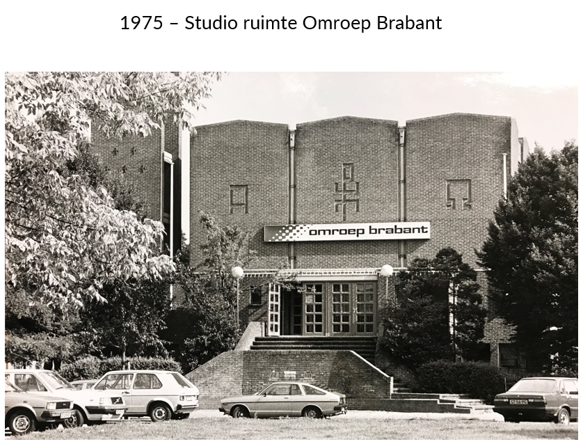 Studio ruimte Omroep Brabant