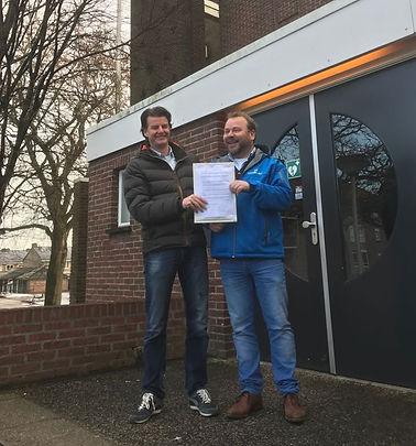 Officiële aankoop Petrakerk door Nobleo Technology & GGD Investments