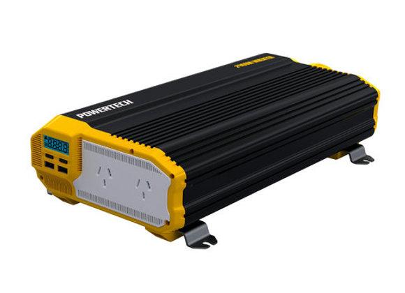 INVERTER MSW 2000W 12VDC W/2XUSB/LCD/REM