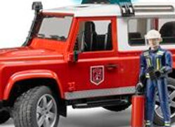 BR 1:16 Land Rover Defender Wagon -Fire Department with L&S
