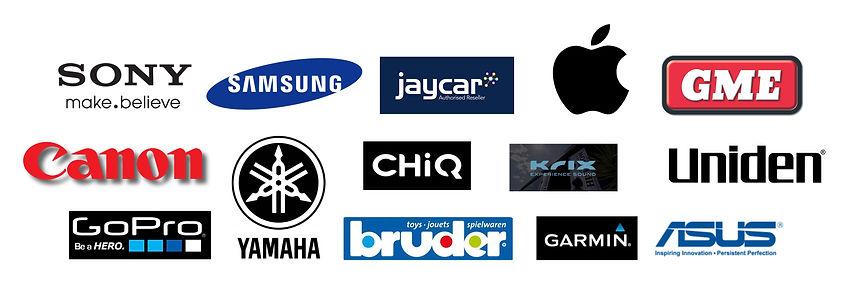 Singleton Hifi Brands Sony Samsung Jayca