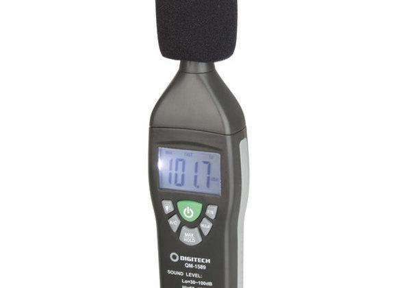 METER SOUND LEVEL MINI 30-130DB LCD GRY