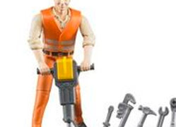 Bworld Construction Worker with Accessories