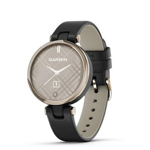 Singleton Hi-fi Hunter Valley Garmin Smart Watch Lily Cream Gold Bezel with Black Case