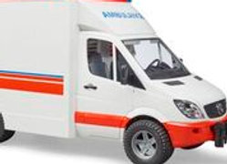BR1:16 MB Sprinter Ambulance with driver