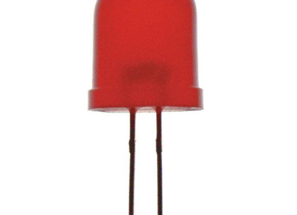 LED 10MM DIF RED 8MCD