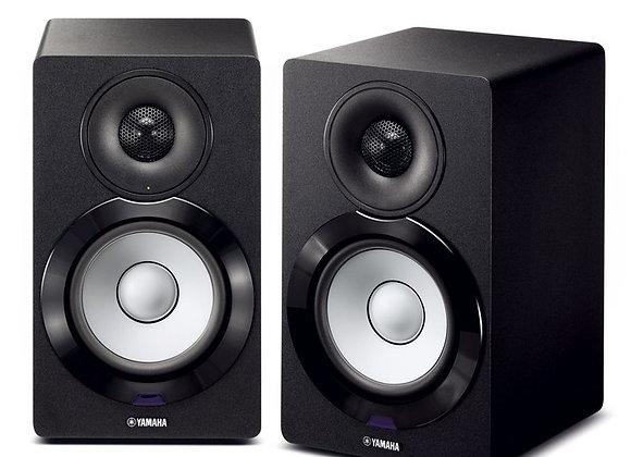 SPEAKERS TWIN MUSIC CAST BLACK