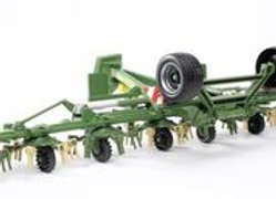 BR1:16 Krone Trailed Rotary Tedder w/Running Gear KWT 8.82