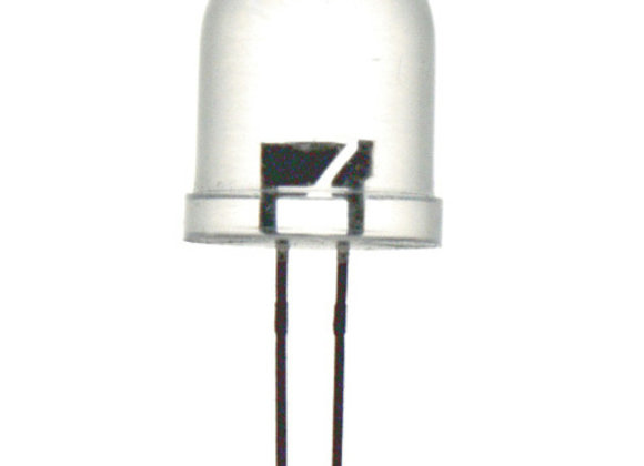 LED 10MM CLR ORG 10000MCD