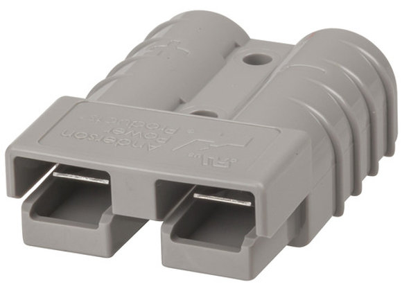 CONN 50A 2POLE GRY 8G CONTACTS SB50