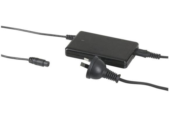 MAINS ADPT LAPTOP 18-20V 90 SLIM W/USB