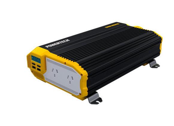 INVERTER MSW 1500W 12VDC W/2XUSB/LCD/REM