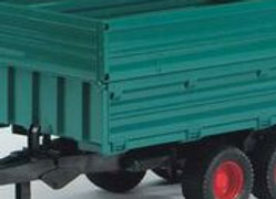 BR1:16 Tandem Axle Tipping Trailer w/Removable Top