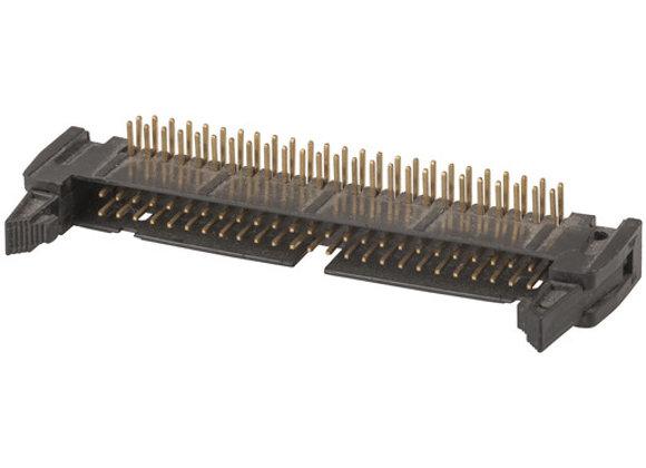 HEADER IDC PCB R/A LOCK 50WAY
