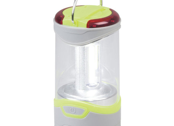 LANTERN LED COB 280LM W/RED FLASH 3AA