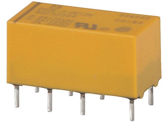 RELAY PCB DIL MINI 12VDC DPDT 20X10X9