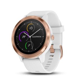 Singleton Hi-fi Hunter Valley Garmin Smart Watch Vivoactive 3 white rose gold