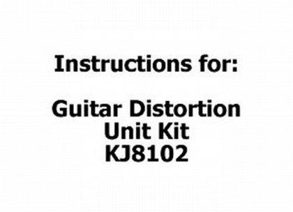 INSTRUCT (KJ8102) SC3 #27 GUITAR DIST