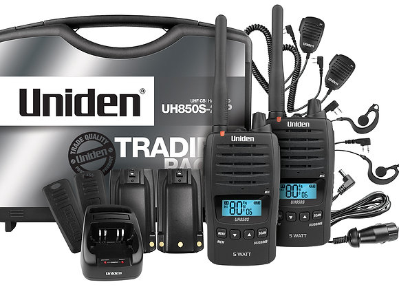 UHF HANDHELD RADIO UNIDEN UH850S-2TP