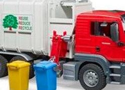 BR1:16 MAN TGS Side loading garbage truck