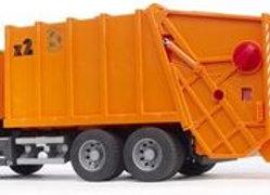 BR1:16 Scania R-Series Garbage Truck (orange)