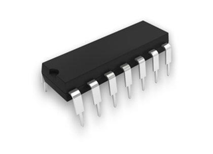 IC LMC6484AIN QUAD CMOS OPAMP DIP14