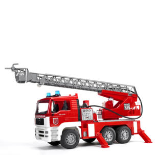 Singleton Hi-fi Hunter Valley Bruder toys red fire engine truck