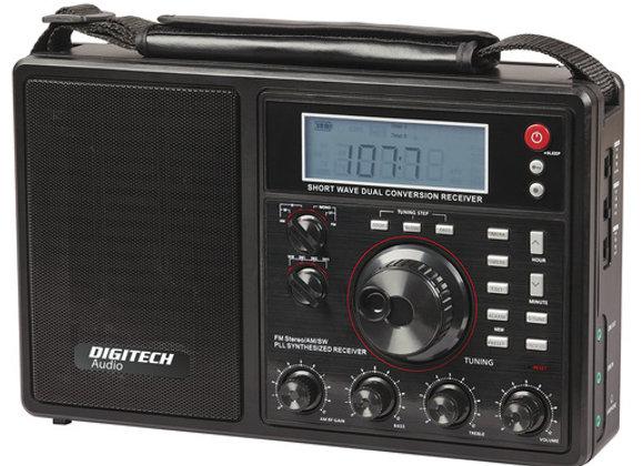 RADIO REC AM/FM/SW PLL WORLD BAND LCD