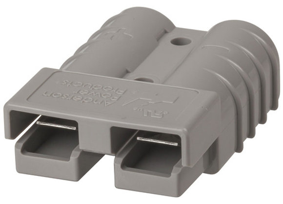 CONN 50A 2POLE GRY 6G CONTACTS SB50