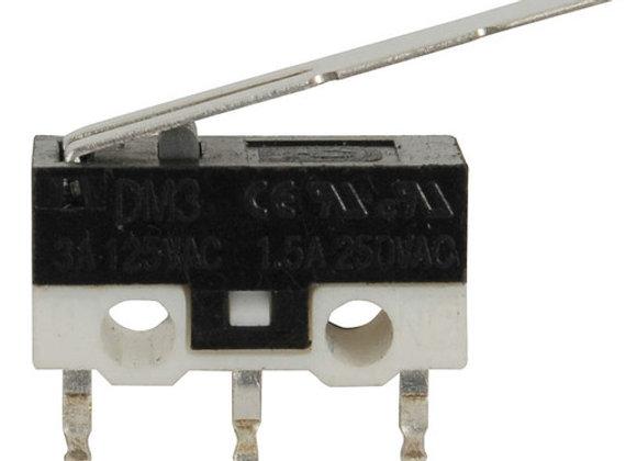 SWITCH MICRO SPDT 125V 3A SUB MINI W/LVR