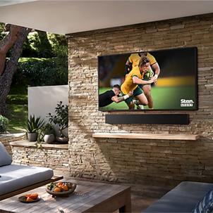 Singleton Hi-fi Hunter Valley Samsung 55 inch The Terrace Outdoor 4K Smart TV