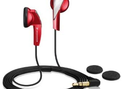 HEADPHONES BUD RED