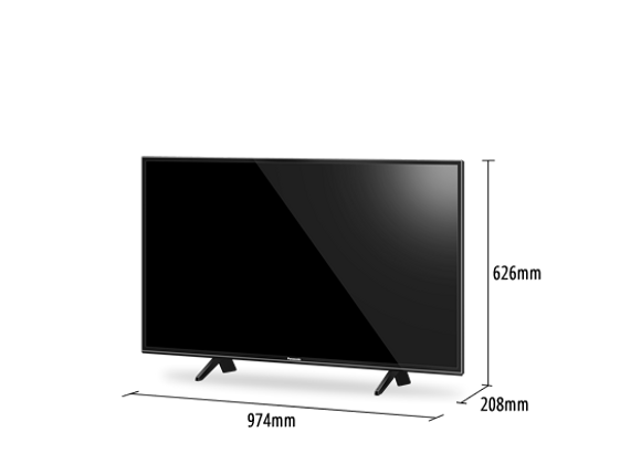TV 43IN, 4K SMART