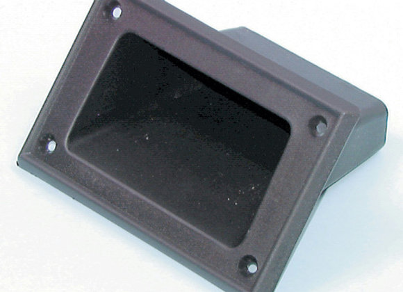 HANDLE POCKET PLAST BLK 136X89X82MM