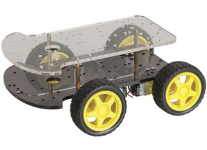 KIT CHASSIS 4WD MOTOR ARDUINO/ROBOT