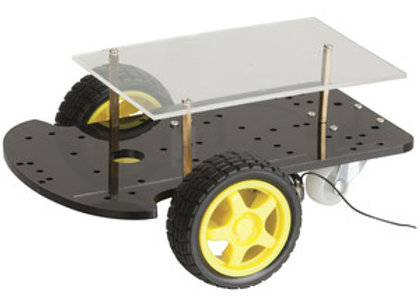 KIT CHASSIS 2WD MOTOR ARDUINO/ROBOT