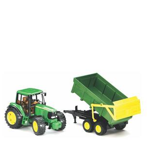 Singleton Hi-fi Hunter Valley Bruder toys green John Deere tractor trailer