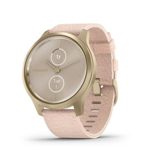 Singleton Hi-fi Hunter Valley Garmin Smart Watch Vivomove Luxe Light Gold Aluminium Case