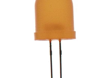 LED 5MM DIF ORG 80MCD