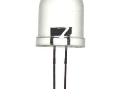 LED 5MM CLR AQUA 7000MCD