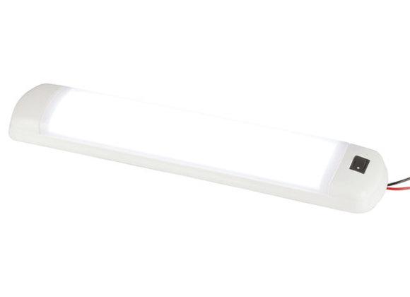 LAMP LED ROOF 12WHT CARAVAN12-24V SWITCH