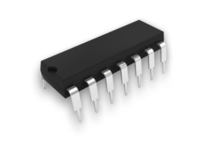 IC 74LS00 QUAD 2INP NAND GATE DIP14