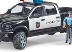 BR1:16 RAM 2500 Police truck with policeman