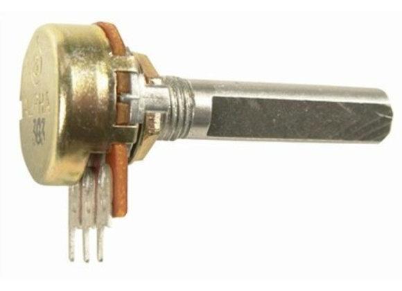 POT PCB LOG SG 16MM A50K STD IMP SHAFT
