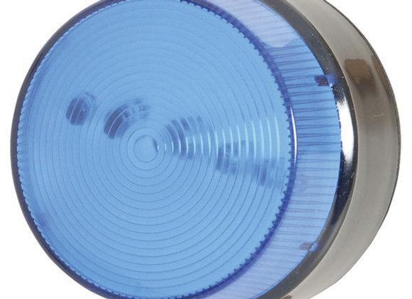 STROBE LED LIGHT WATERPROOF 12VDC BLU